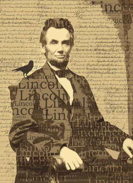 Wall Art - Digital Art - Lincoln by Nancy Merkle