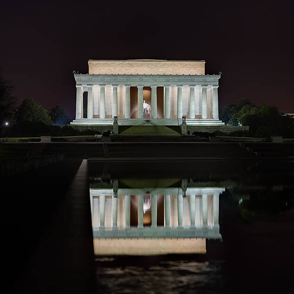 Photograph - Lincoln Reflection by Metro DC Photography