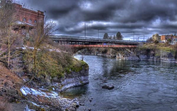 Photograph - Lincoln Street Bridge 2013 by Lee Santa