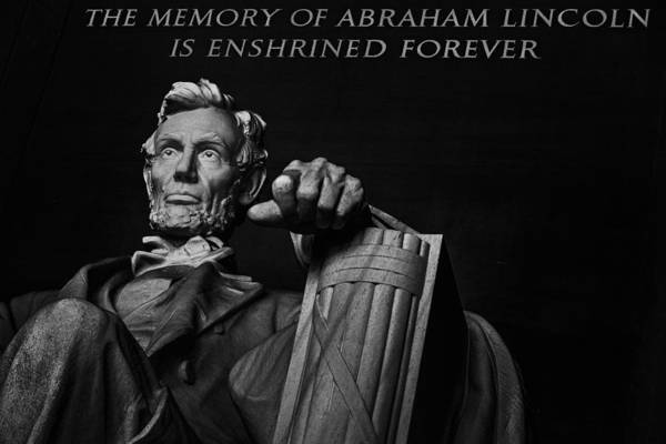 Wall Art - Photograph - Lincoln The Legacy Of A President by Eduard Moldoveanu