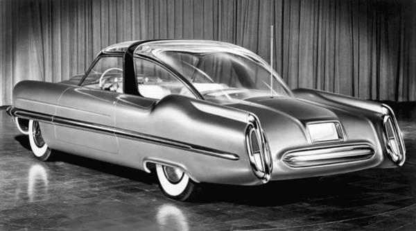 Detroit Auto Show Photograph - Lincoln Xl-500 Concept Car by Underwood Archives