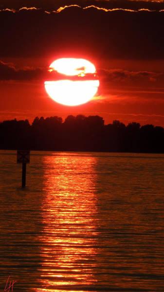 Photograph - Lindau Island  Bodensee Sunset  by Colette V Hera  Guggenheim