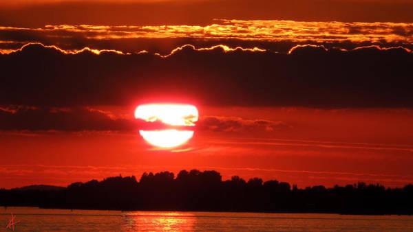 Photograph - Lindau Island Sunset by Colette V Hera  Guggenheim
