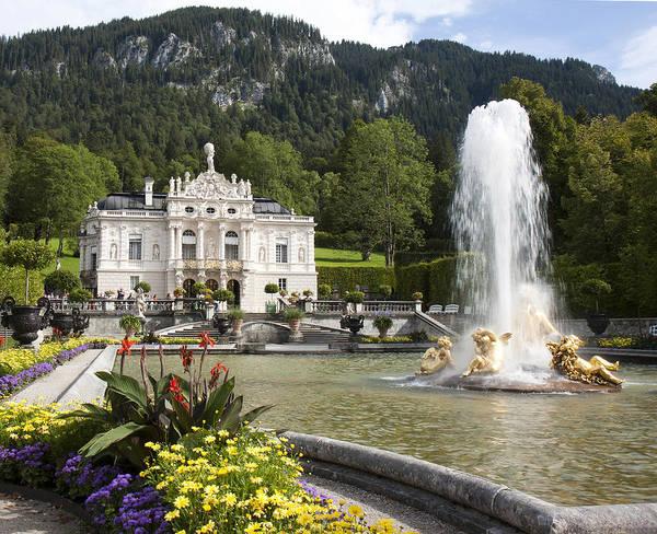 Photograph - Linderhof Palace by Nathan Rupert