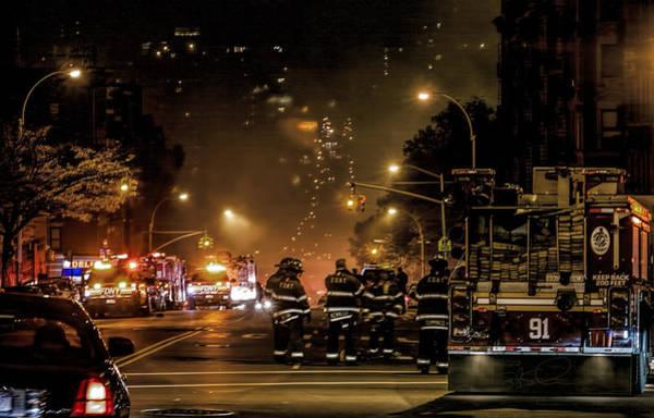 Photograph - Line Of Duty by S Paul Sahm