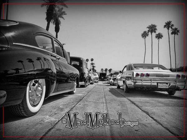 Indio Photograph - Line Them Up by MadMethod Designs