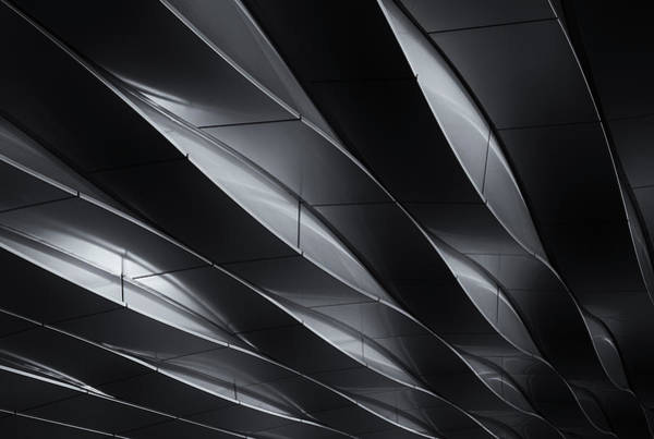 Modern Architecture Photograph - Lines In Motion by Jeroen Van De