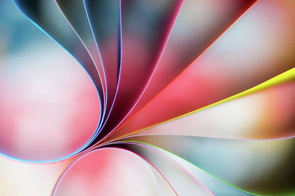 Colours Photograph - Lines by Mazin Alrasheed Alzain