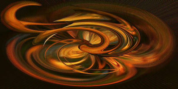 Digital Art - Lines Of Force - Abstract by rd Erickson