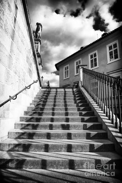 Wall Art - Photograph - Lines On The Stairs by John Rizzuto
