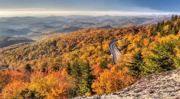 Photograph - Linn Cove Viaduct by Pierre Leclerc Photography