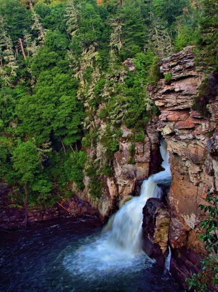 Photograph - Linville Falls by Carol Montoya