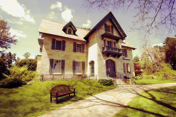 Photograph - Linwood House by Trina  Ansel