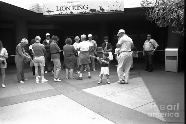 Wall Art - Photograph - Lion King Disney World Florida Circ 1995 by Edward Fielding