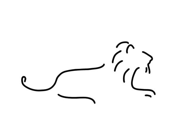 Lion Mane Art Print