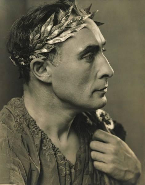 Lionel Photograph - Lionel Atwill As The Shavian Caesar In 'caesar by Edward Steichen