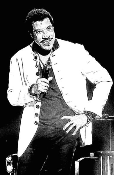 Photograph - Lionel In Black And White by Alice Gipson