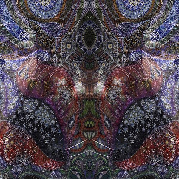 Mixed Media - Lips by Ellie Perla