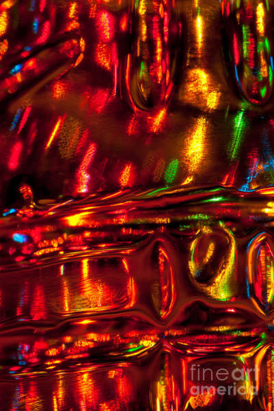 Photograph - Liquid Abstract II by Anthony Sacco
