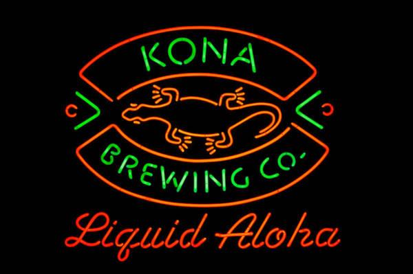 Liquid Aloha Art Print