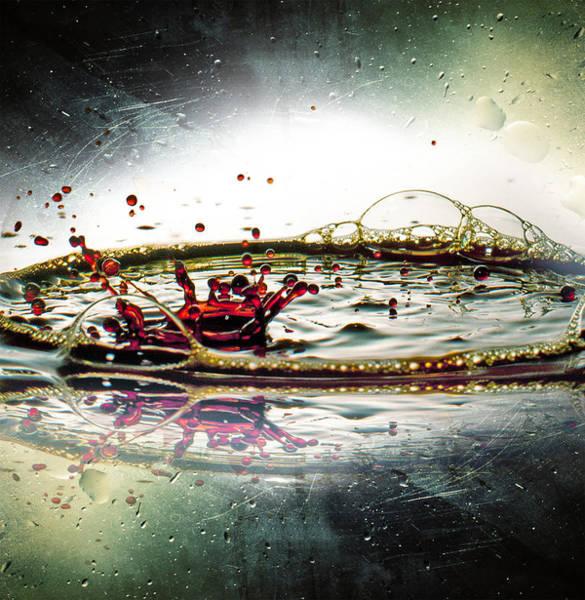Bubble Bath Photograph - Liquid Dance by Ivan Vukelic