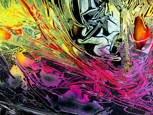 Liquid Decalcomaniac Desires 1 Art Print