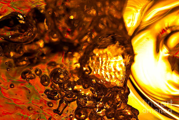 Photograph - Liquid Fuel by Anthony Sacco
