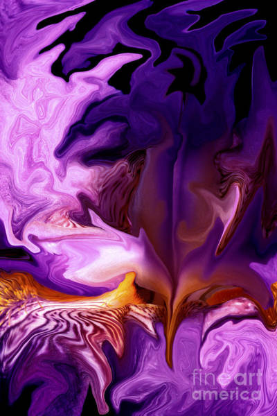 Liquify Photograph - Liquid Iris by Paul W Faust -  Impressions of Light