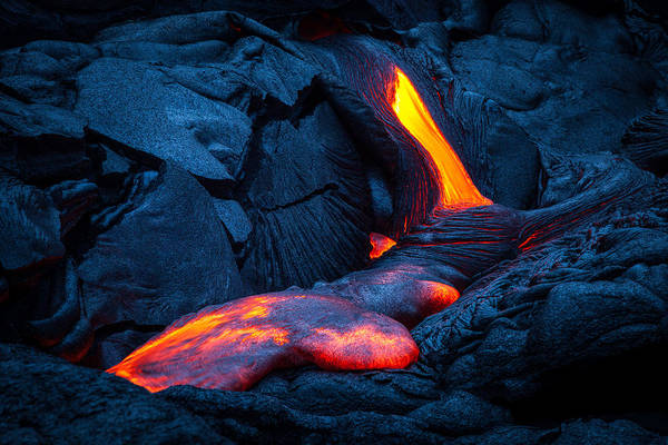Big Island Photograph - Liquid Rock by Thorsten Scheuermann