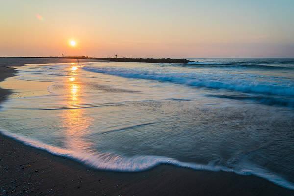 Jersey Shore Photograph - Liquid Sun by Kristopher Schoenleber