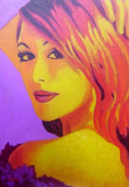 Boa Painting - Lisa Darling IIi - The Irish Burlesque School by John  Nolan