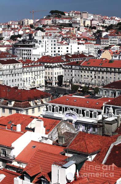 Wall Art - Photograph - Lisbon Cityscape II by John Rizzuto