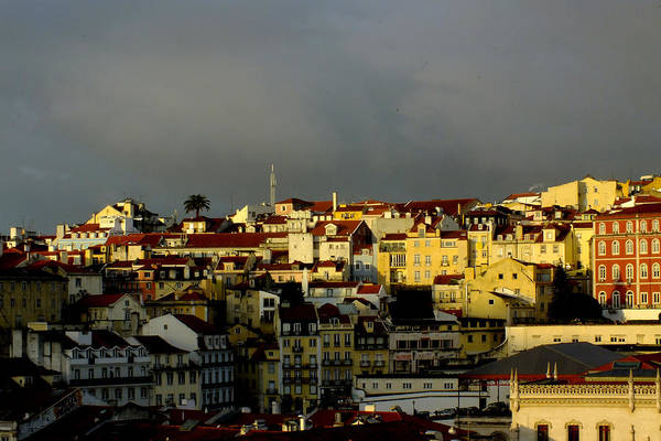 Photograph - Lisbon Skyline by Phil Darby