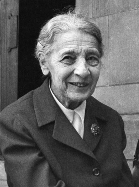 Wall Art - Photograph - Lise Meitner, German Chemist by Science Photo Library