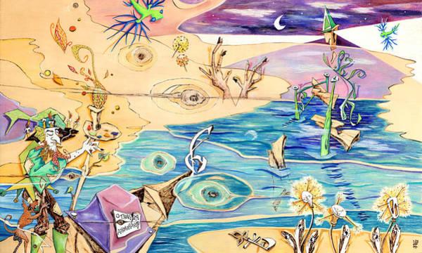 Pirografia Wall Art - Painting - L'isola Che C'e - Poveglia Per Tutti by Arte Venezia