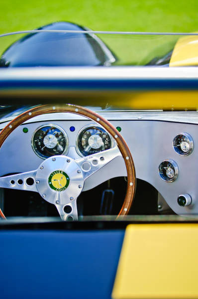 Photograph - Lister Steering Wheel by Jill Reger