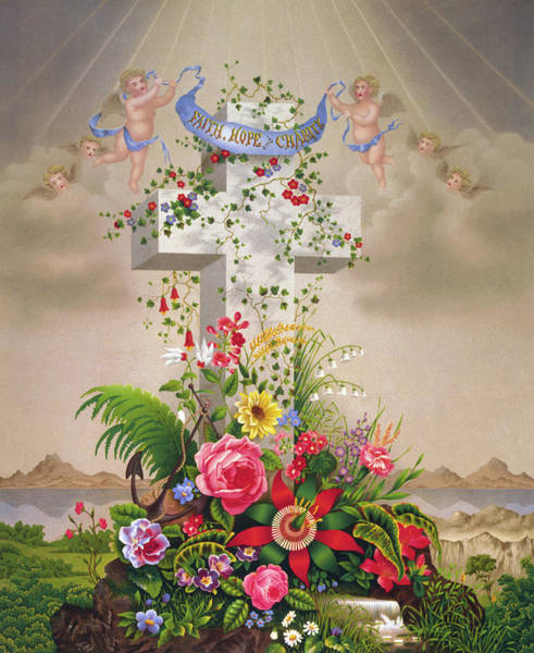 Wall Art - Painting - Lithograph Religion by Granger