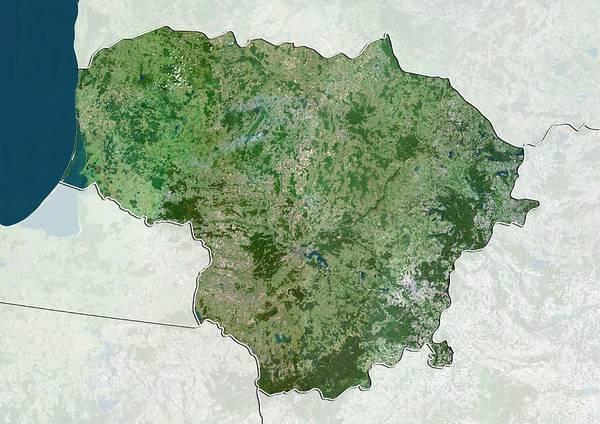 Lithuania Art Print