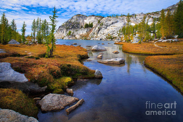 Alpine Lakes Wilderness Photograph - Little Annapurna by Inge Johnsson