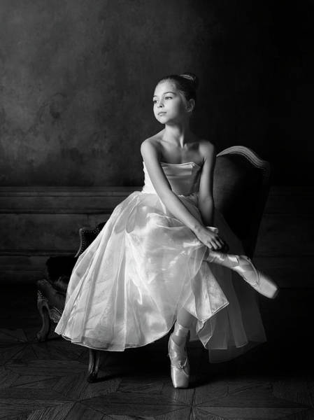 Wall Art - Photograph - Little Ballet Star by Victoria Ivanova