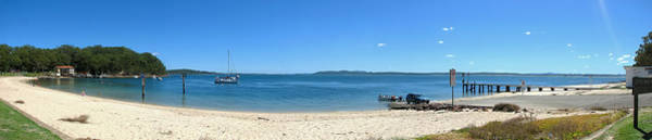 Photograph - Little Beach Panorama by Paul Svensen