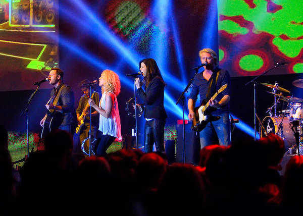 Photograph - Little Big Town In Concert by Greg Norrell