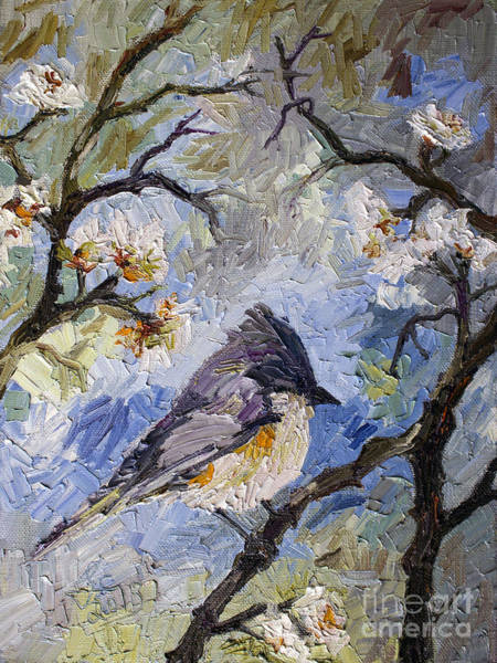 Painting - Little Bird In My Garden by Ginette Callaway