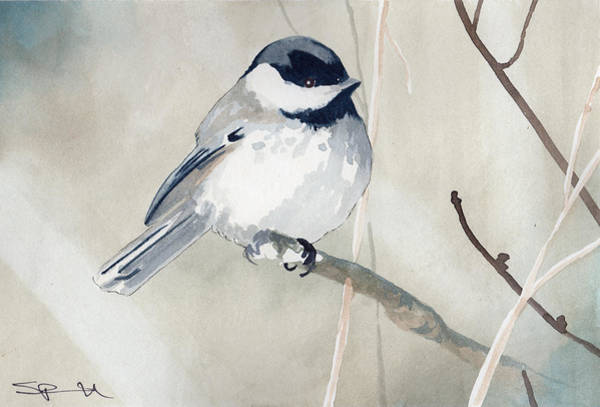 Painting - Little Bird by Sean Parnell