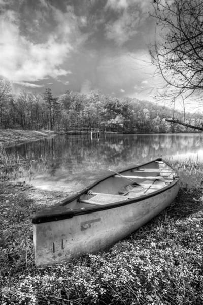 Chilhowee Photograph - Little Bit Of Heaven Black And White by Debra and Dave Vanderlaan
