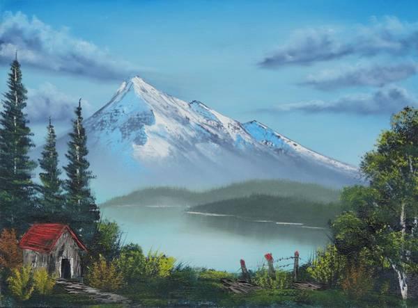 Little Cabin At The Lake Art Print