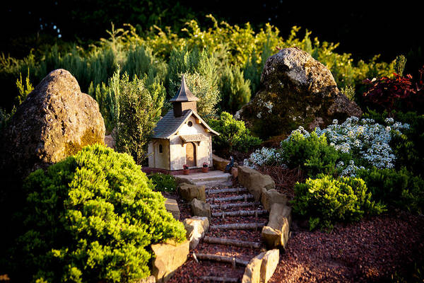 Photograph - Little Church On The Hill by Melinda Ledsome