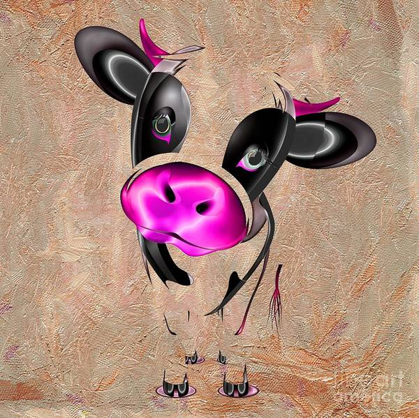 Clear Coat Wall Art - Photograph - Little Cow by Liane Wright