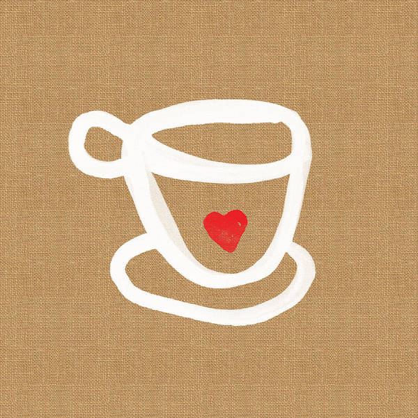 Little Cup Of Love Art Print