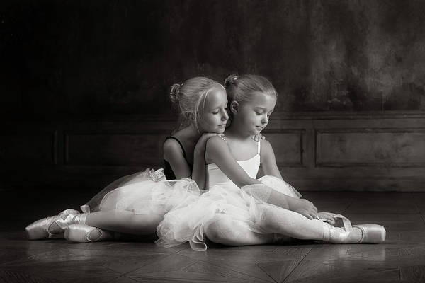 Wall Art - Photograph - Little Dancers by Victoria Ivanova